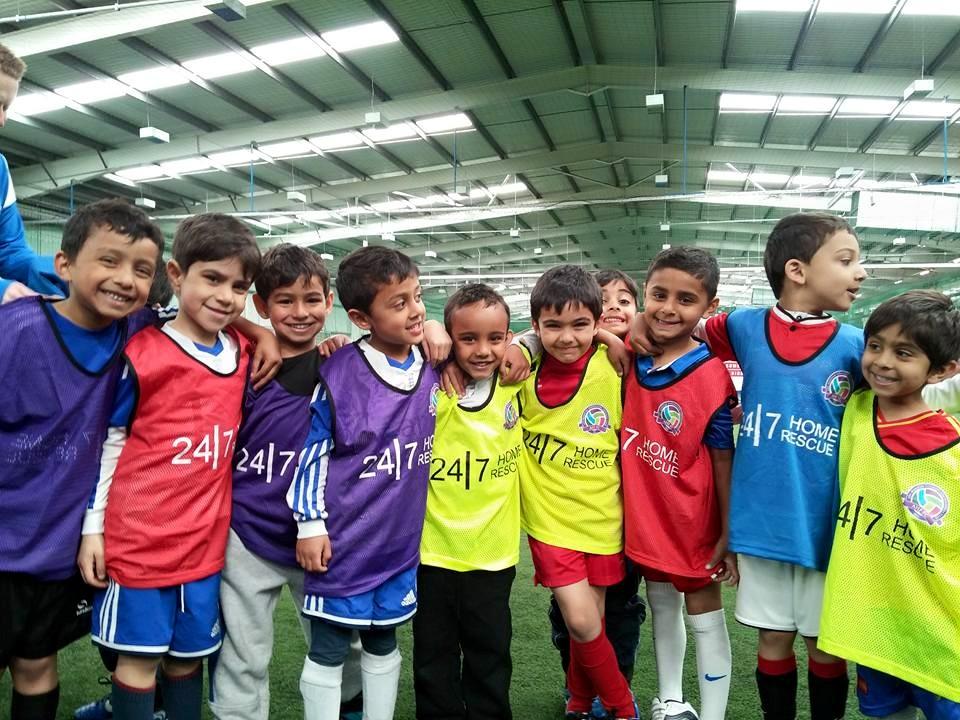 AHF FC reception kids, FA Charter