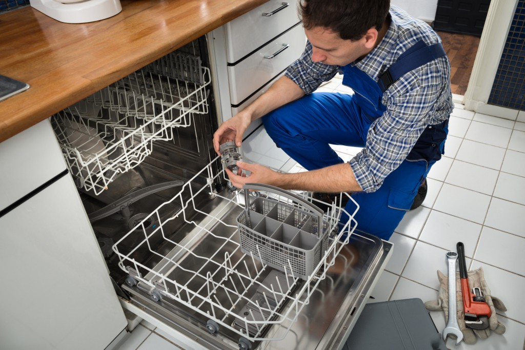 dishwasher clean inside