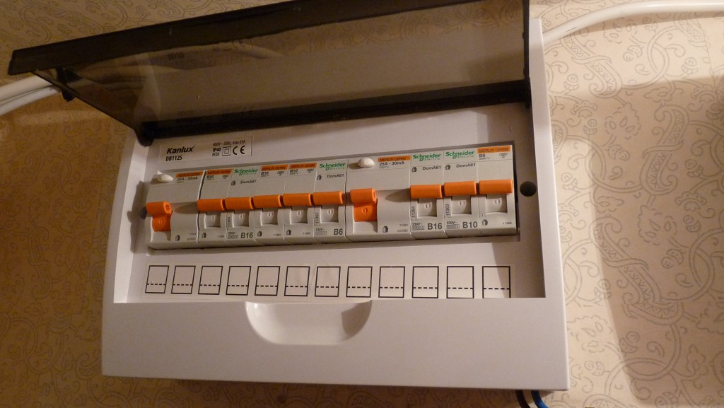replacing fuse wire with fuse box