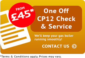 cp12-oneoff, gas safety certificate