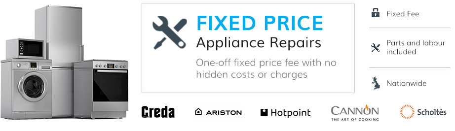 appliance repair fixed fee