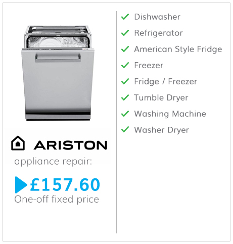 Ariston fixed fee repair