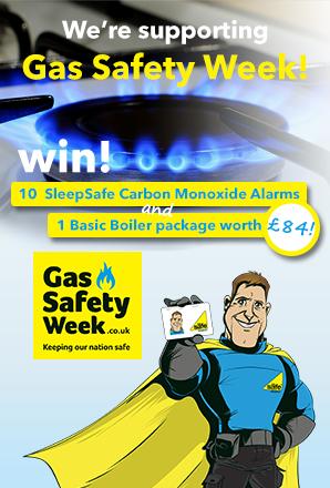 ad2_gas safety week, Sleep Safe Carbon Monoxide Alarm & Boiler Basic Package Cover