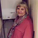 Viessmann boiler winner Sandra Clarke for 24|7 Home Rescue competition
