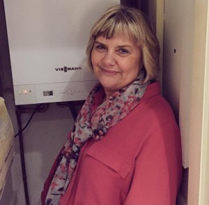 Viessmann boiler winner Sandra Clarke, Christmas competition thanks to 24|7 Home Rescue