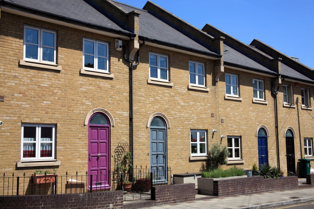 Modern new terraced houses, Landlords Lose as Challenges to buy-to-let Tax Plans