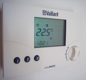 Digital thermostat in the living room, 4 ways to fix your boiler before calling an engineer