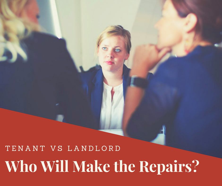 Tenant Vs Landlord Repair, Landlords and Tenants