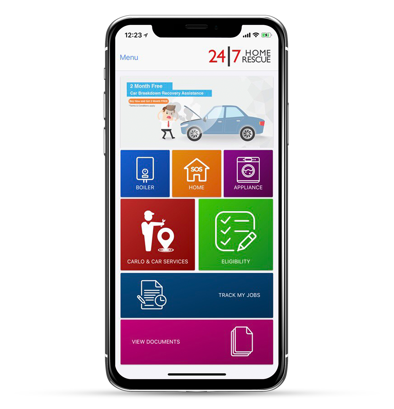 My24|7 Mobile App | Book a Service, Make a Claim, View Documents
