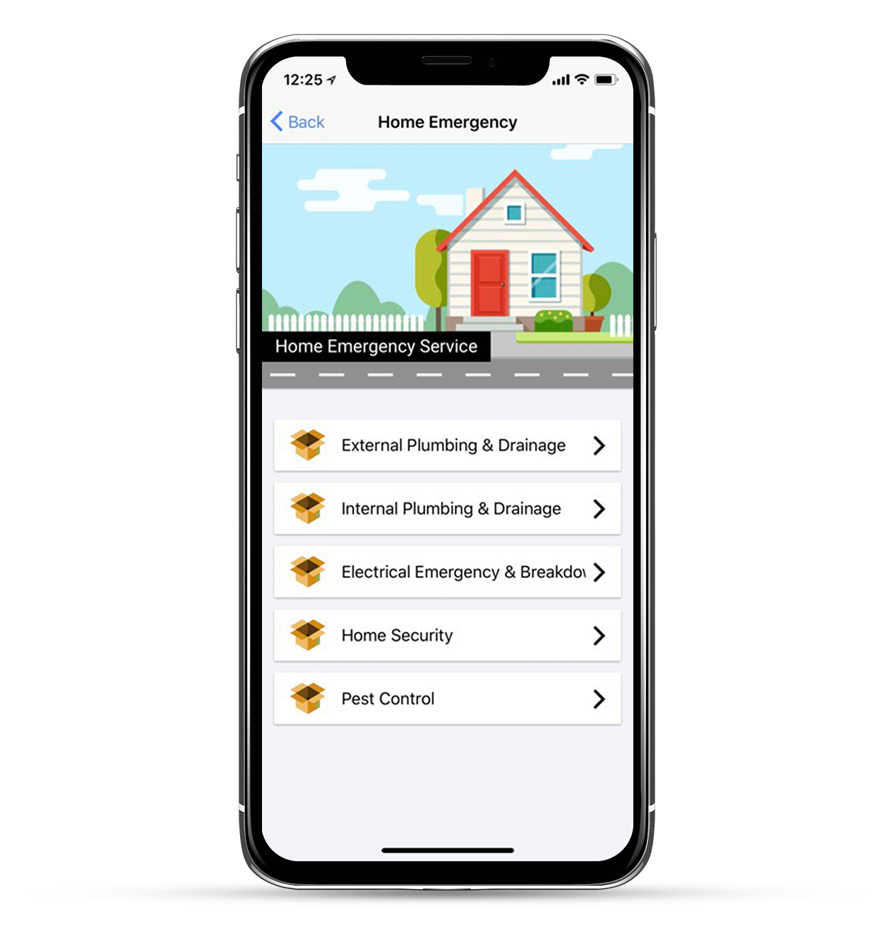 24|7 home rescue mobile app Home Emergency page services